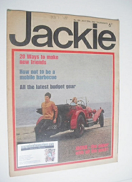 <!--1967-07-29-->Jackie magazine - 29 July 1967 (Issue 186)