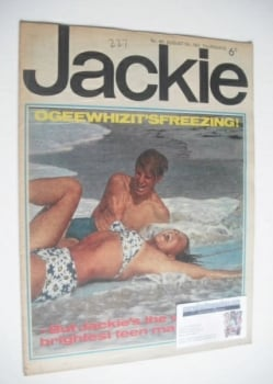 Jackie magazine - 5 August 1967 (Issue 187)
