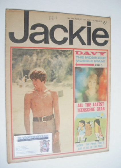 <!--1967-08-12-->Jackie magazine - 5 August 1967 (Issue 188)