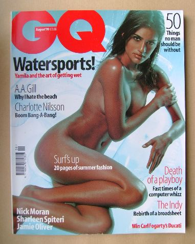 <!--1999-08-->British GQ magazine - August 1999