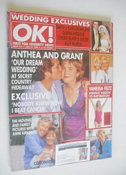 OK! magazine - Anthea Turner and Grant Bovey cover (23 June 2000 - Issue 218)