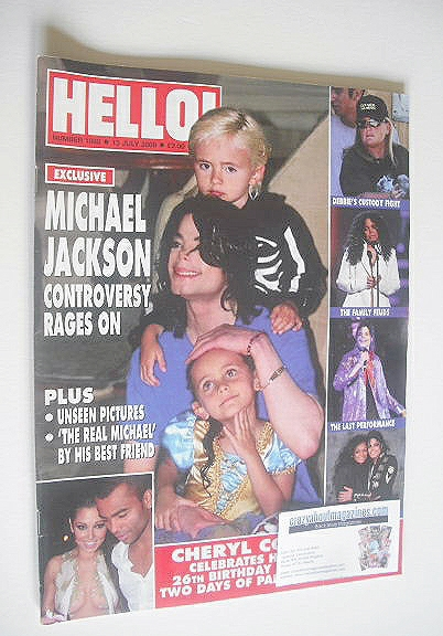 <!--2009-07-13-->Hello! magazine - Michael Jackson and Prince Michael and P