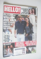 <!--2009-05-26-->Hello! magazine - Prince William and Kate Middleton cover (26 May 2009 - Issue 1073)