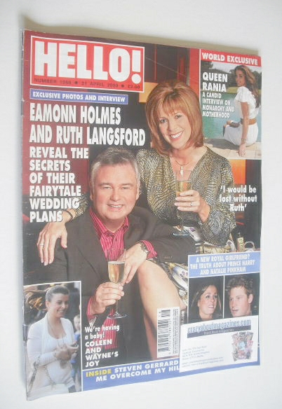 <!--2009-04-21-->Hello! magazine - Eamonn Holmes and Ruth Langsford cover (
