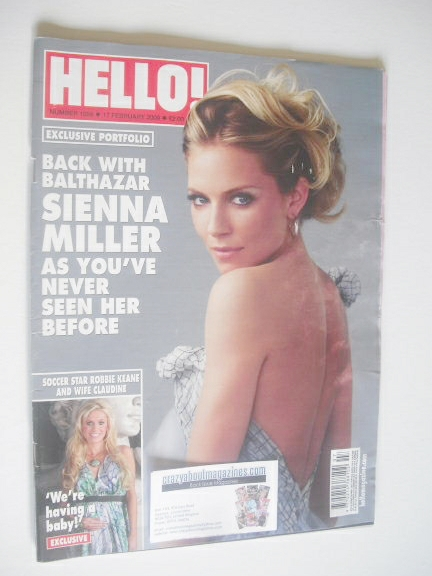 <!--2009-02-17-->Hello! magazine - Sienna Miller cover (17 February 2009 -