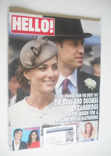 <!--2011-06-13-->Hello! magazine - Prince William and Kate Middleton cover