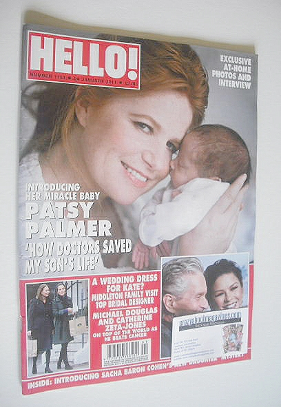 <!--2011-01-24-->Hello! magazine - Patsy Palmer cover (24 January 2011 - Is