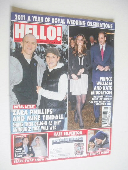 <!--2011-01-10-->Hello! magazine - A Year Of Royal Wedding Celebrations cov