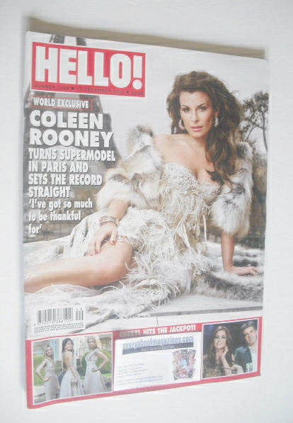 <!--2010-12-13-->Hello! magazine - Coleen Rooney cover (13 December 2010 -