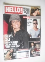 <!--2010-10-18-->Hello! magazine - Cheryl Cole cover (18 October 2010 - Issue 1145)