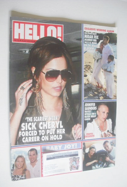 <!--2010-07-19-->Hello! magazine - Cheryl Cole cover (19 July 2010 - Issue