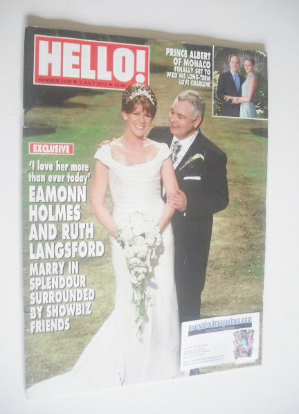 <!--2010-07-05-->Hello! magazine - Eamonn Holmes and Ruth Langsford cover (