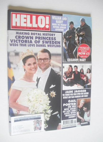 <!--2010-06-29-->Hello! magazine - Crown Princess Victoria of Sweden and Da