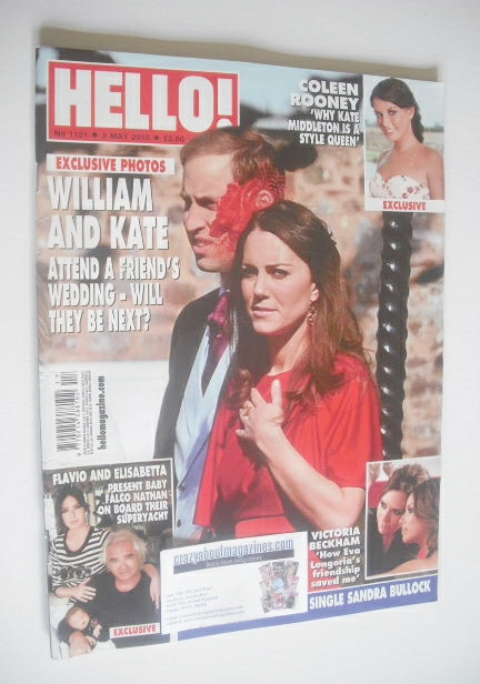 <!--2010-05-03-->Hello! magazine - Prince William and Kate Middleton cover
