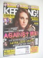 <!--2014-11-15-->Kerrang magazine - Laura Jane Grace cover (15 November 2014 - Issue 1543)