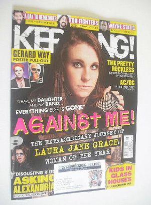 <!--2014-11-15-->Kerrang magazine - Laura Jane Grace cover (15 November 201