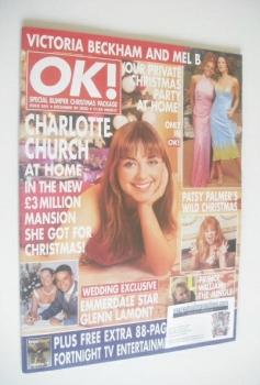 OK! magazine - Charlotte Church cover (29 December 2000 - Issue 244)