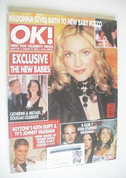 OK! magazine - Madonna cover (25 August 2000 - Issue 227)