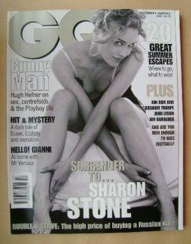 British GQ magazine - July 1996 - Sharon Stone cover