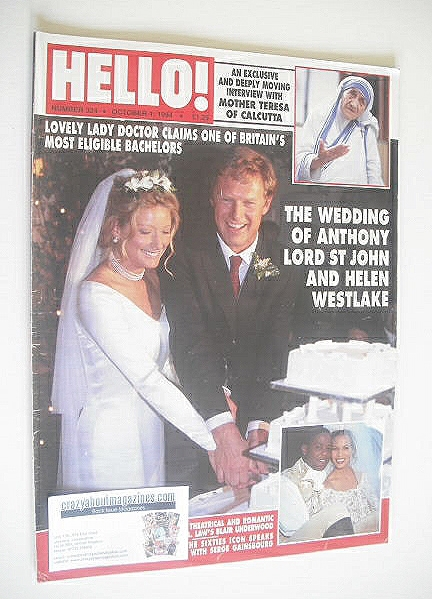 <!--1994-10-01-->Hello! magazine - Anthony Lord St John and Helen Westlake