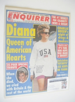 National Enquirer magazine - Princess Diana cover (16 September 1997)