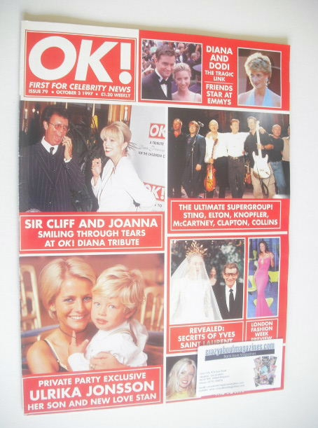 <!--1997-10-03-->OK! magazine (3 October 1997 - Issue 79)