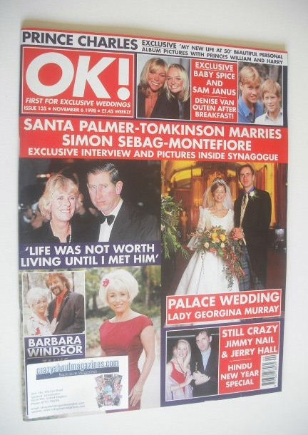 <!--1998-11-06-->OK! magazine - Lady Georgina Murray cover (6 November 1998