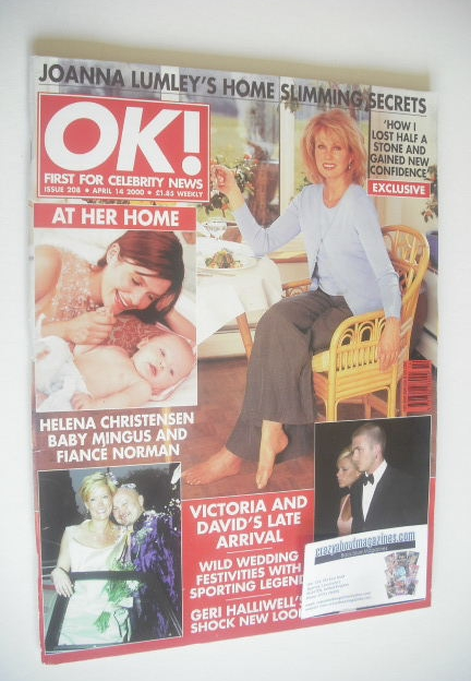 <!--2000-04-14-->OK! magazine (14 April 2000 - Issue 208)