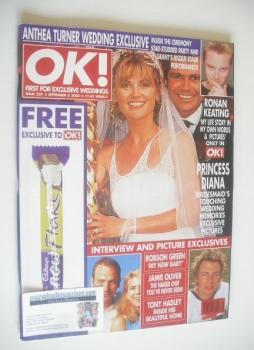 OK! magazine - Anthea Turner and Grant Bovey cover (8 September 2000 - Issue 229)