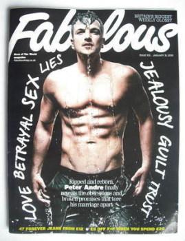 Fabulous magazine - Peter Andre cover (31 January 2010)