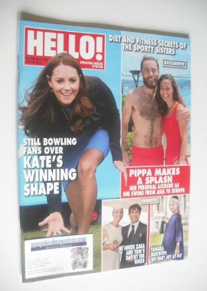 <!--2014-08-11-->Hello! magazine - The Duchess of Cambridge cover (11 Augus