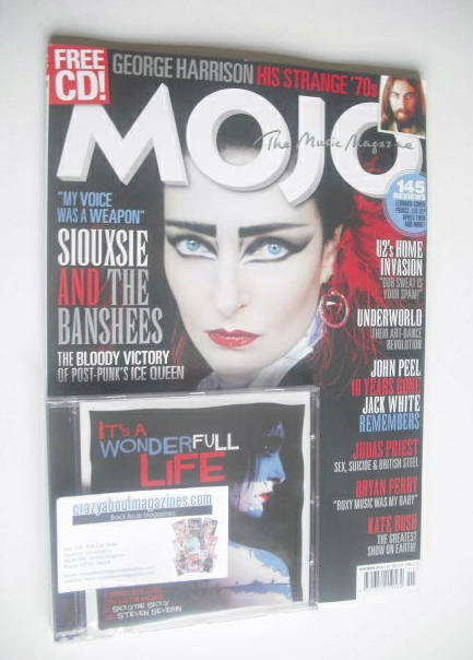 <!--2014-11-->MOJO magazine - Siouxsie Sioux cover (November 2014 - Issue 2