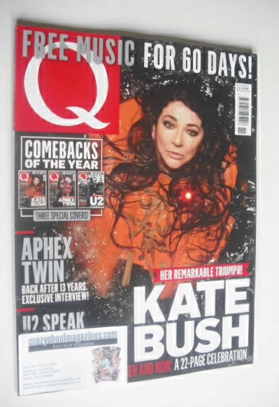 <!--2014-11-->Q magazine - Kate Bush cover (November 2014)