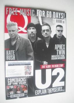 Q magazine - U2 cover (November 2014)