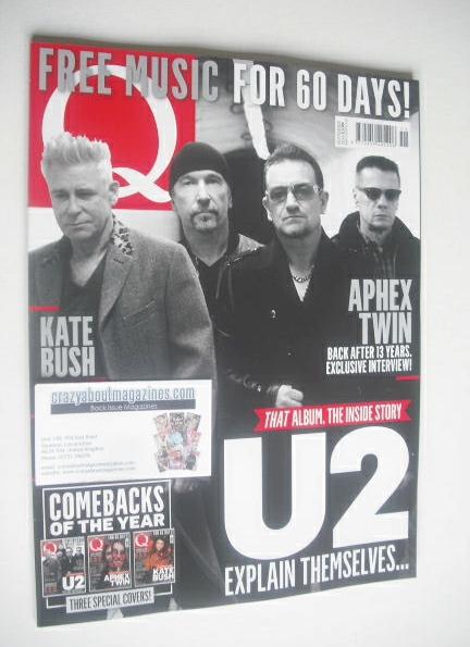 <!--2014-11-->Q magazine - U2 cover (November 2014)