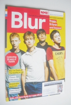 NME Special Collector's Edition magazine - Blur cover (Issue 4 - 2014)