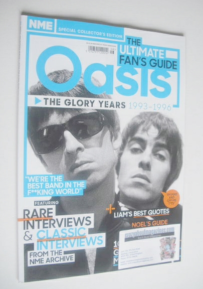 NME Special Collector's Edition magazine - Oasis cover (Issue 8 - 2014)