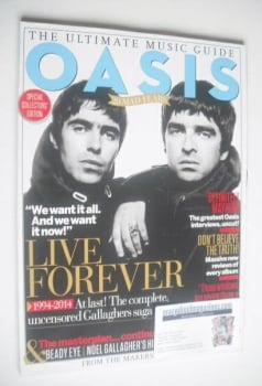 The Ultimate Music Guide magazine - Oasis cover (Issue 3 - 2014)
