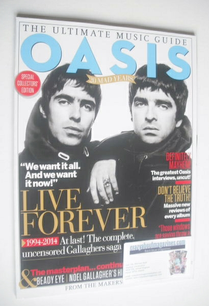 <!--2014-03-->The Ultimate Music Guide magazine - Oasis cover (Issue 3 - 20