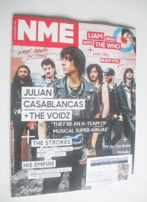 <!--2014-11-22-->NME magazine - Julian Casablancas and The Voidz cover (22