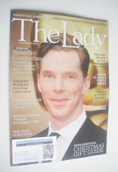 <!--2014-11-14-->The Lady magazine (14 November 2014 - Benedict Cumberbatch