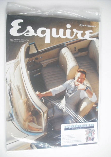 <!--2014-11-->Esquire magazine - Robert Downey Jr cover (November 2014 - Su