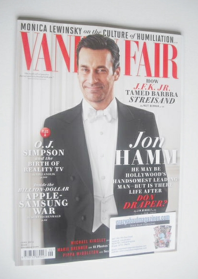 <!--2014-06-->Vanity Fair magazine - Jon Hamm cover (June 2014)
