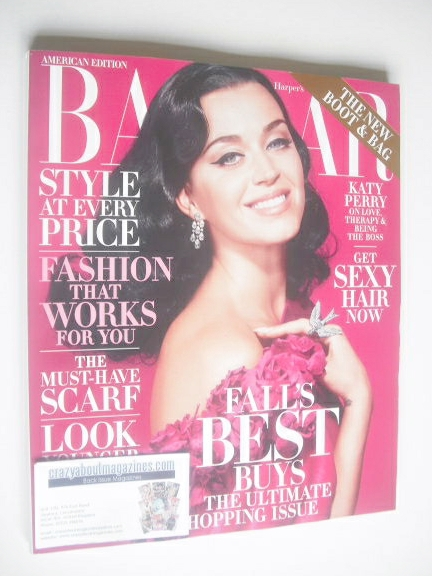 <!--2014-10-->Harper's Bazaar magazine - October 2014 - Katy Perry cover