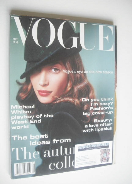 <!--1993-09-->British Vogue magazine - September 1993 - Christy Turlington