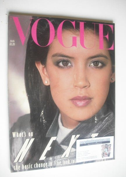 <!--1982-08-->British Vogue magazine - August 1982 (Vintage Issue)