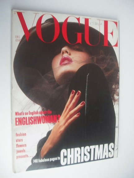 <!--1984-12-->British Vogue magazine - December 1984 (Vintage Issue)