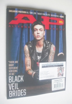 Alternative Press magazine - December 2014 - Andy Biersack cover (Cover 2 of 2)