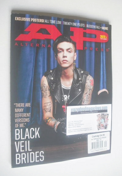 <!--2014-12-->Alternative Press magazine - December 2014 - Andy Biersack co