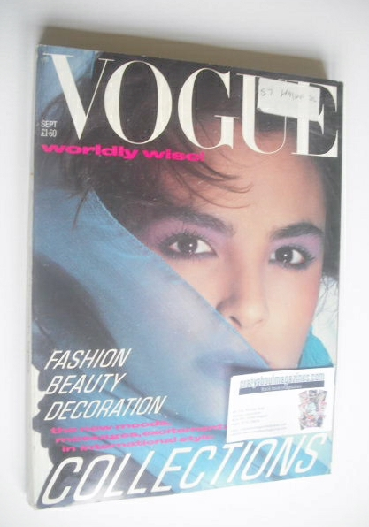 <!--1984-09-->British Vogue magazine - September 1984 (Vintage Issue)